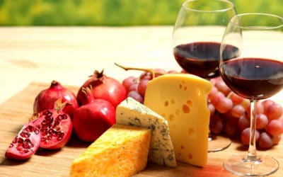 Delicacies on the Plate: Cheese Assortments